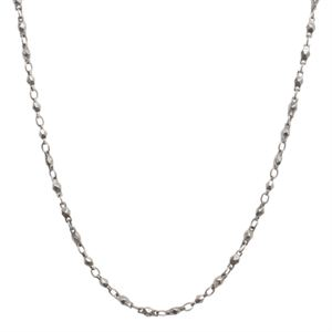 Picture of Silver Multifaceted Link Chain - 28""